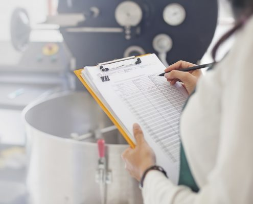 Food and beverage hygiene coating check up