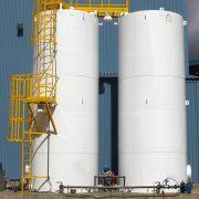chemical resistant coating for storing tanks