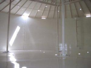 epoxy Tank lining coating on tank interior
