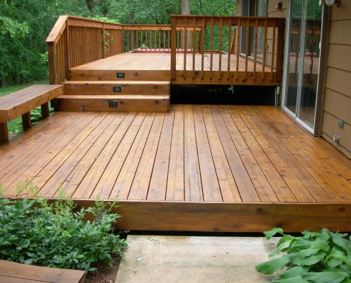 Deck stain decking paint