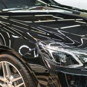 glass coating for cars black shine
