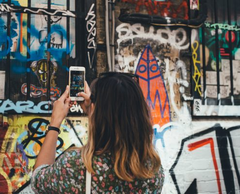 Graffiti prevention coating