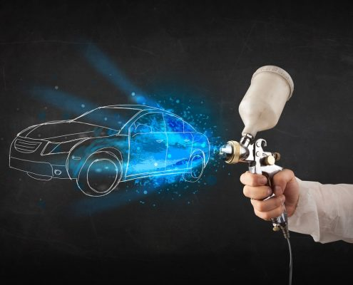 car powder coating prices