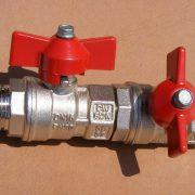 fluoropolymer coatings on valve
