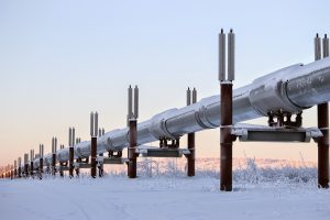 pipeline coating protecting from the cold