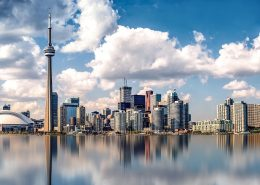 The skyline of Toronto could power itself with solar window coating