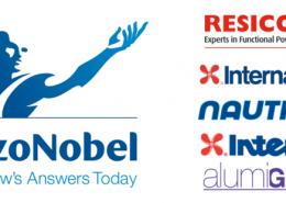 logos of Akzonobel brands in canada