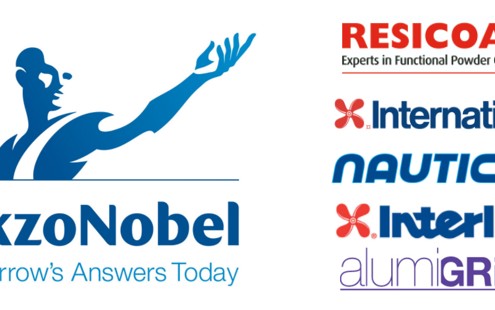 logos of Akzonobel brands in canada