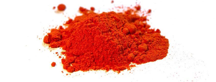 red powder coating additives