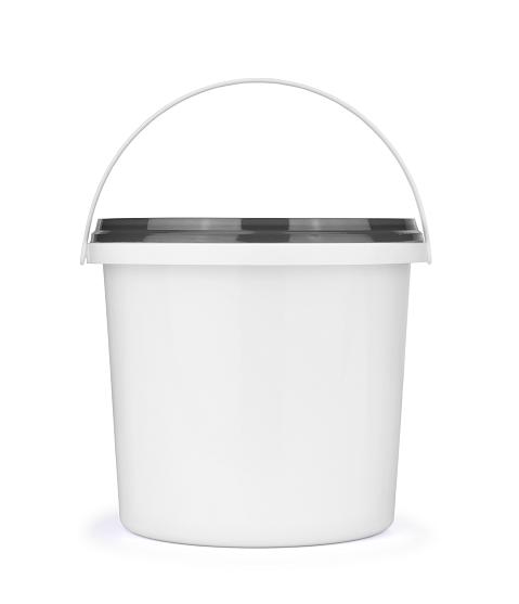 Coating bucket white