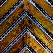 Using wood finishes such as a stain can preserve the original grain of the wood.