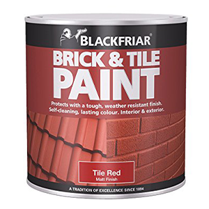 Blackfriar Brick & Tile Paint Matt Tile Red 500ml