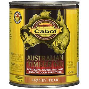 Cabot Australian Timber Oil 1 Quart Honey Teak