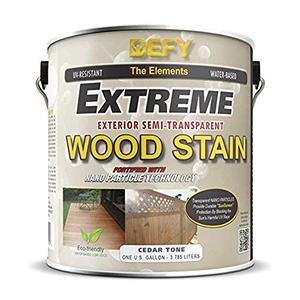 DEFY Extreme Wood Stain 1 Gallon Cedar Tone