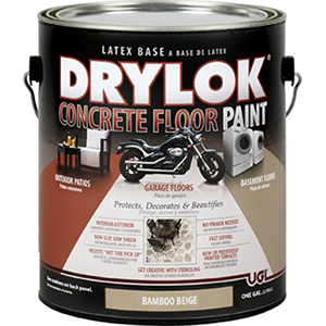 Drylok Concrete Floor Paint Latex Based