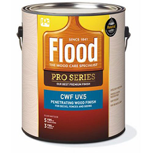 Flood PPG Architectrural CWF-UV5 Gallon Cedar Premium Penetrating Wood Finish