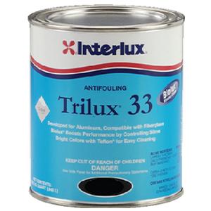 Interlux Antifouling Paint Black, Quart 32 Fluid_Ounces