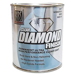 KBS Coatings 8304 Diamond Finish Clear Coat - 1 Pint