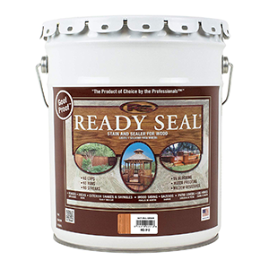 Ready Seal Stain and Sealer for Wood 5 Gallon Natural Cedar