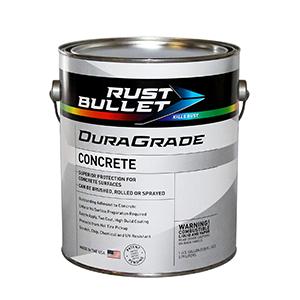 Rust Bullet Concrete Paint Light Gray