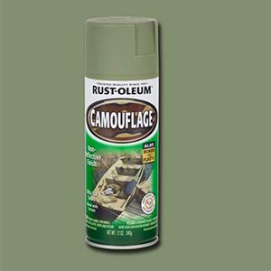 Rust-Oleum 1920830 Camouflage Spray, Army Green, 12-Ounce
