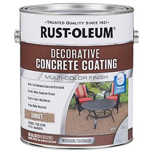 Rust-Oleum Decorative Concrete Coating Sunset