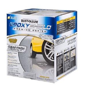 Rust-Oleum Epoxy Shield Premium Series Clear Floor Coating Kit