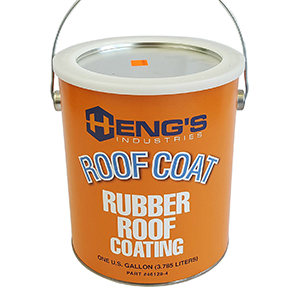 Heng's Rubber Roof Coating 1 Gallon EPDM-rubber roof sealant White