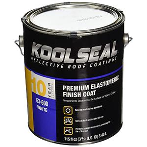Kool Seal Elastomeric Roof Coating 115 fl oz White
