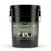 Liquid Rubber Foundation Sealant Black 5 Gallon