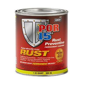 POR-15 Rust Preventive Coating Gray