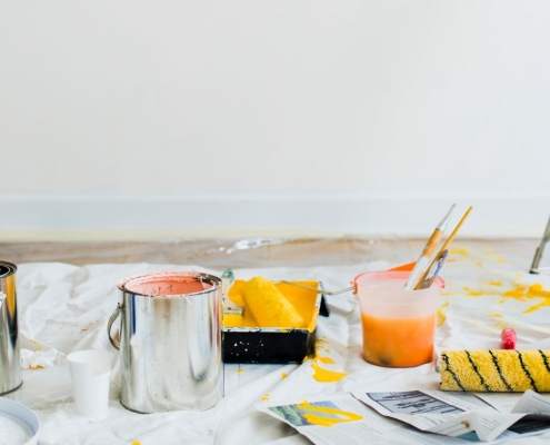 Find all you need to know for your DIY project with our painting supplies guide