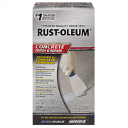 Rust-Oleum 301012 24 oz. Kit Epoxy Shield Concrete Patch and Repair, Gray