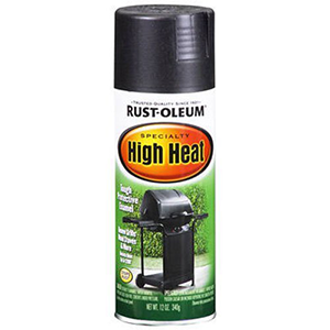 Rust-Oleum High Heat Enamel Spray, Black