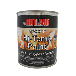 Rutland 1200°F Hi-Temp Paint Black
