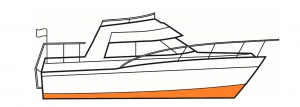 Yacht paint below the waterline is vital for fouling control