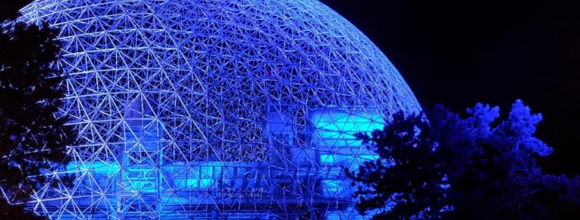powder coating Montreal biosphere