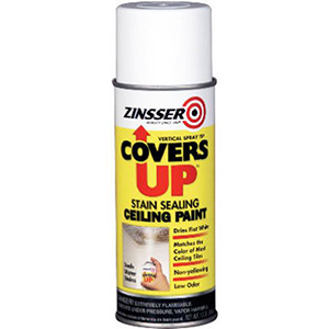 Rust-Oleum Stain Sealing Ceiling Paint Spray 13-Ounce, White