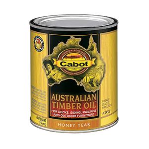 Cabot Stains Australian Timber Oil 1 Quart Honey Teak