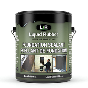 Liquid Rubber Foundation Sealant Basement Coating