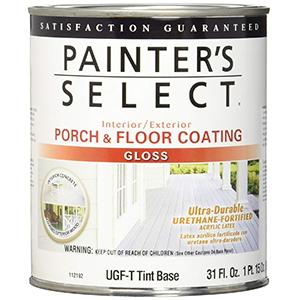 Painter's Select Interior-Exterior Porch & Floor Coating Gloss Tint Base 1 Quart