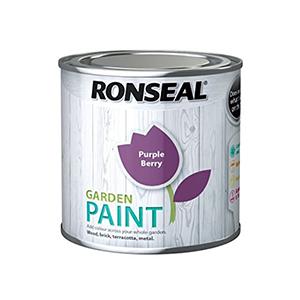 Ronseal Garden Paint Purple Berry 250ml